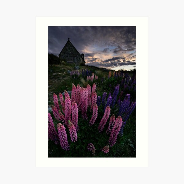 Sundown on the Shepherd Art Print