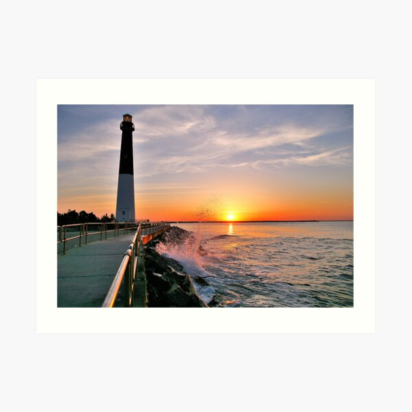 Barnegat Light Art Print