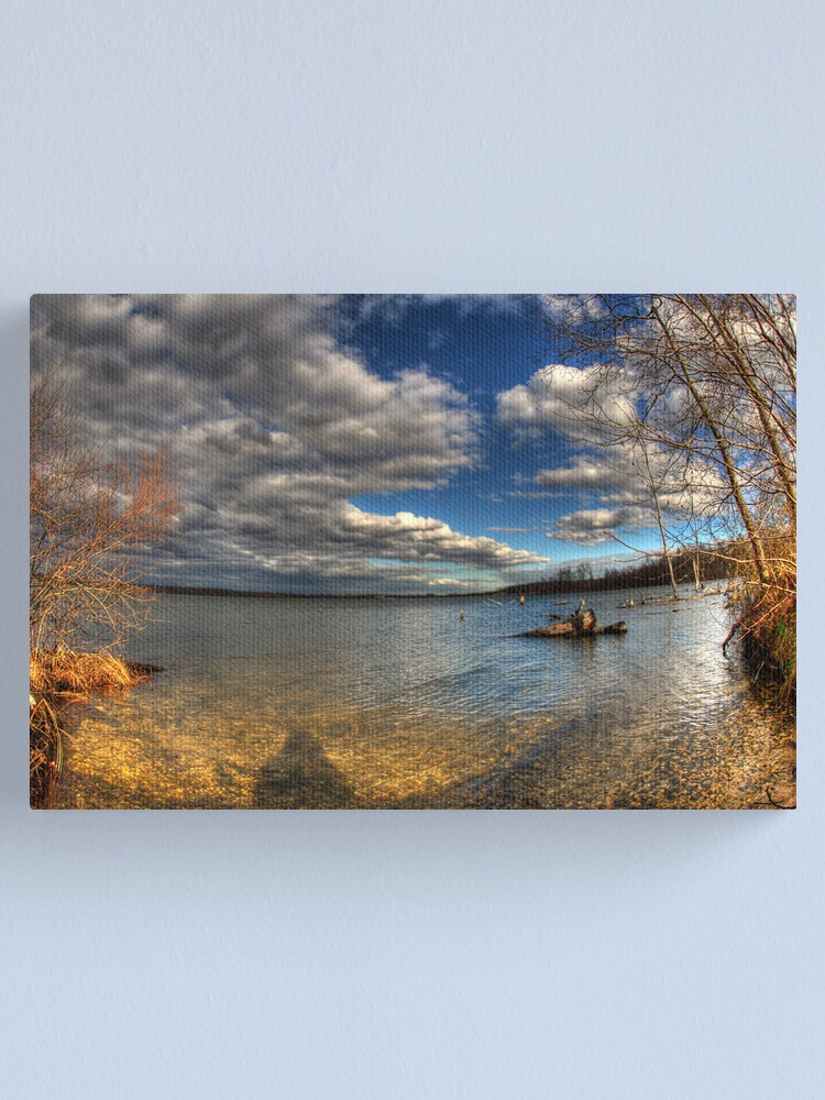 Alternate view of Reflecting Canvas Print
