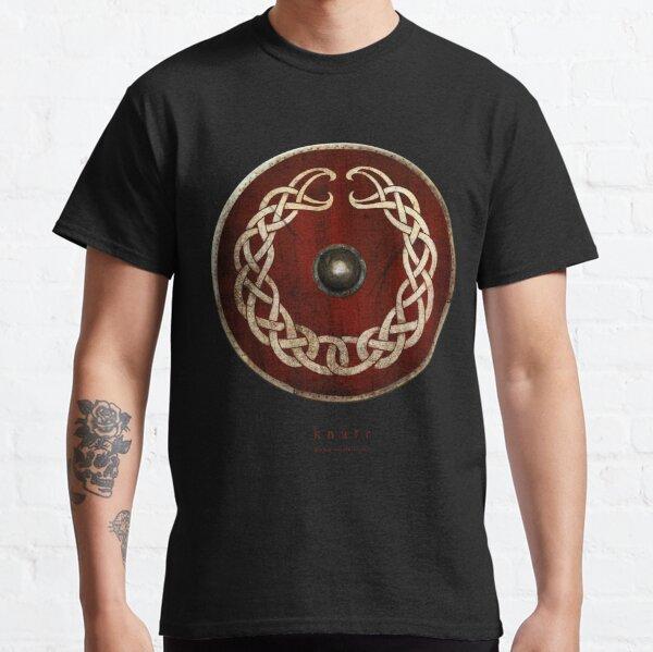 Bouclier viking Entrelacs Nordiques T-shirt classique