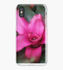 contrast between green&pink iPhone Case/Skin