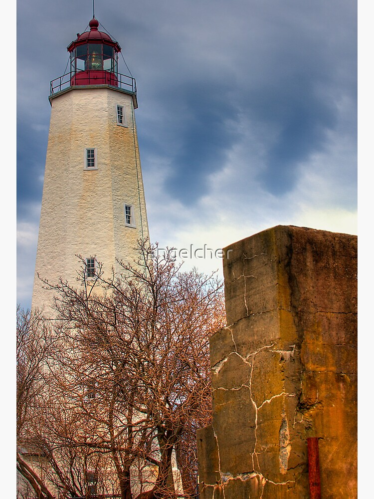 Barnegat Light and The Fort by angelcher