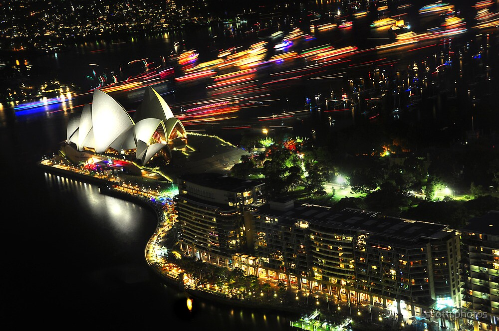 New years eve Sydney 09 - the boats head home by scottsphotos
