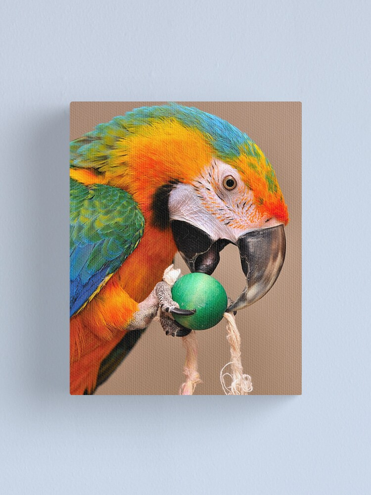 Alternate view of His name is Ozzy Canvas Print