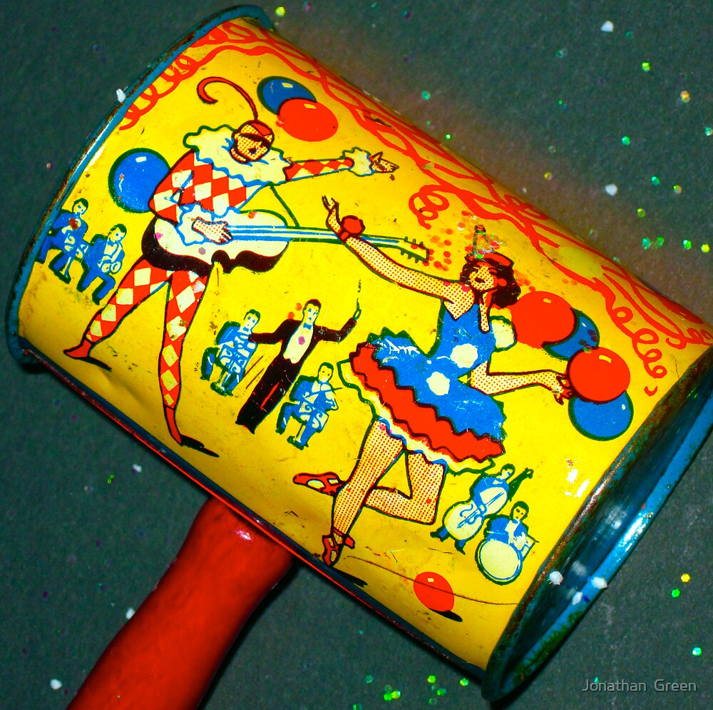Vintage New Year Noisemaker 2010 by Jonathan  Green