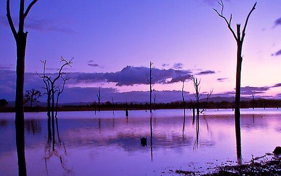 Sunset over Somerset by GayeLaunder Photography