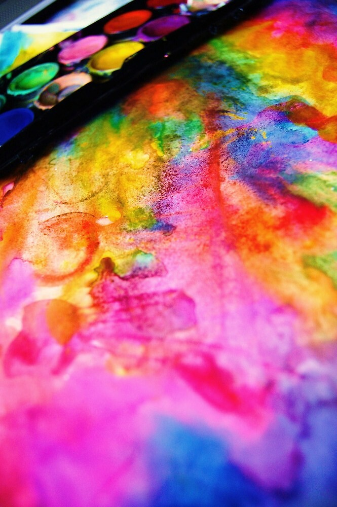 the aliment of colours. by Oracular