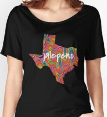 Texas jalepeno. Psychedelic Women's Relaxed Fit T-Shirt