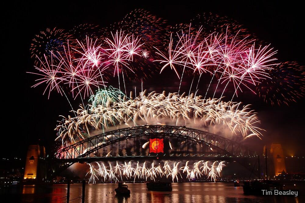 Sydney Fireworks 2009-2010 p3 by Tim Beasley