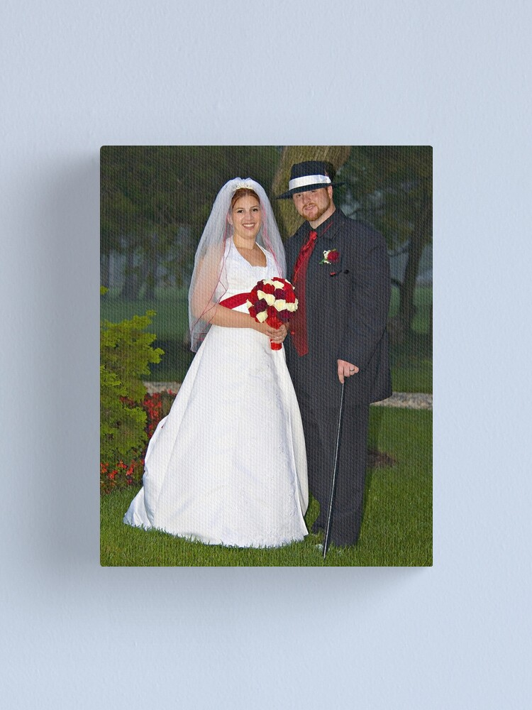 Alternate view of The Wedding Canvas Print