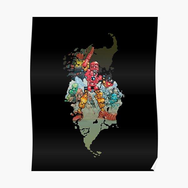 Mata Nui Toa Poster
