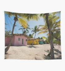 a colourful Dominican Republic landscape Wall Tapestry