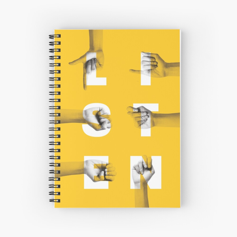 be inclusive Spiral Notebook