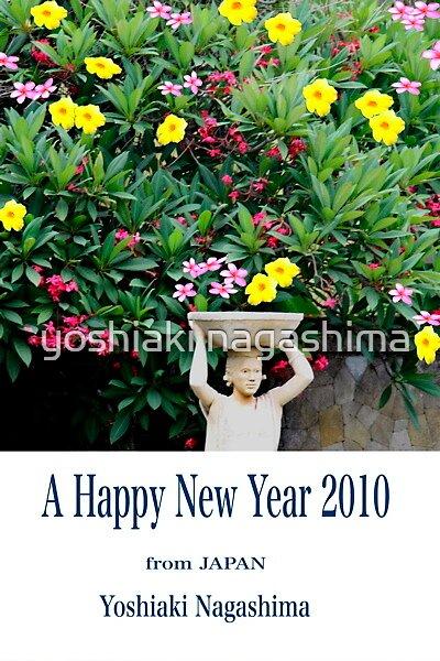 A Happy New Year 2010 by yoshiaki nagashima
