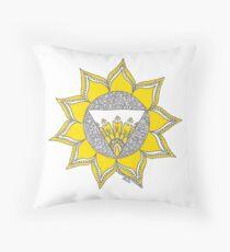 Solar Plexus Chakra Symbol Dekokissen