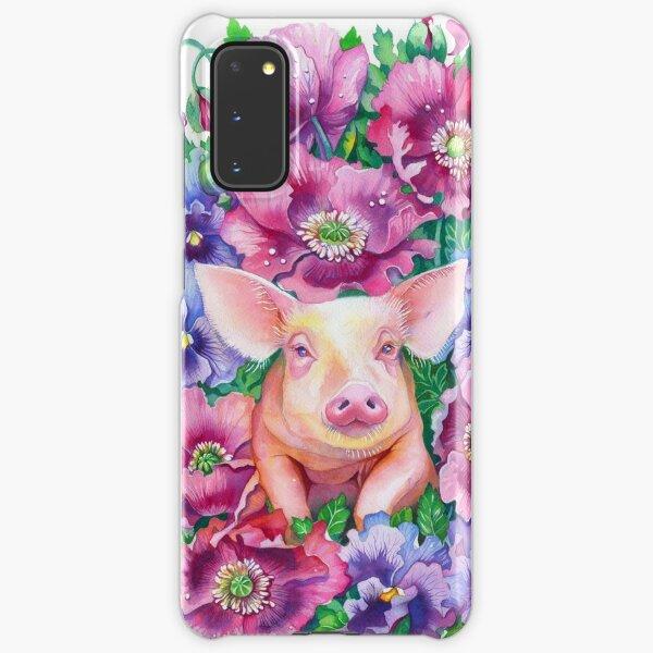 Pig Chinese Zodiac Watercolour Samsung Galaxy Snap Case