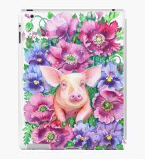 Pig Chinese Zodiac Watercolour iPad Case/Skin