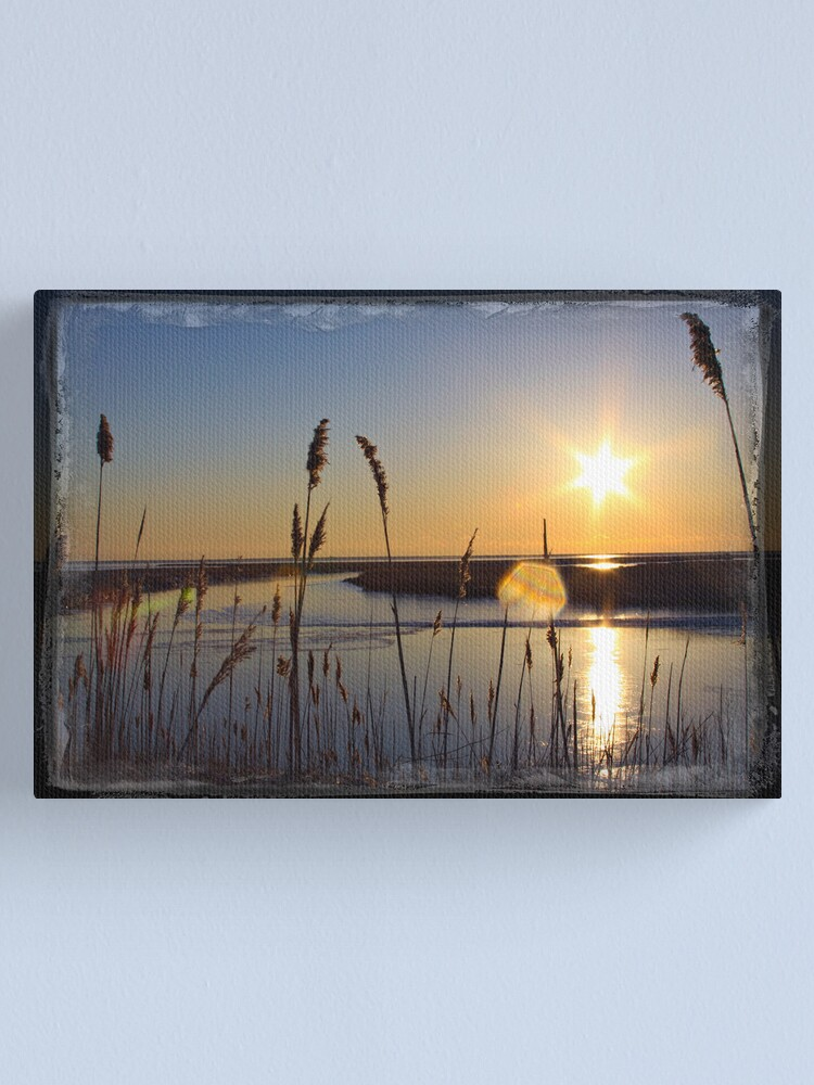 Alternate view of Sun Star Canvas Print