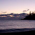 Lake Superior Sunrise in Winter by cjbenck