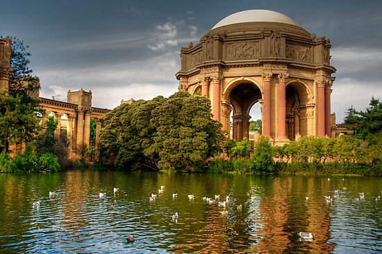 Palace of Fine Arts  by Cheryl  Lunde