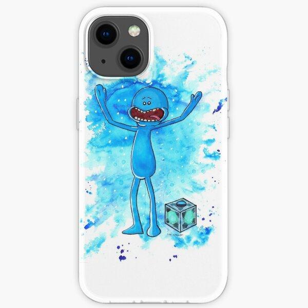 Mr Meeseeks - Watercolour iPhone Soft Case