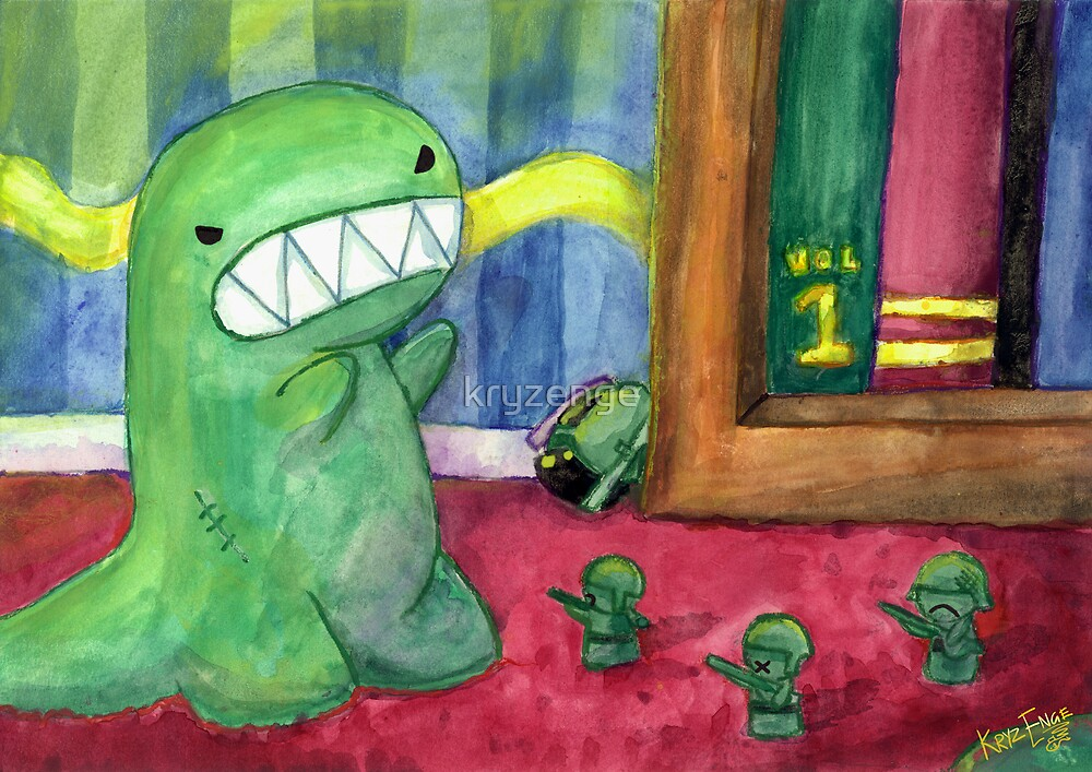 Monster Attack by kryzenge
