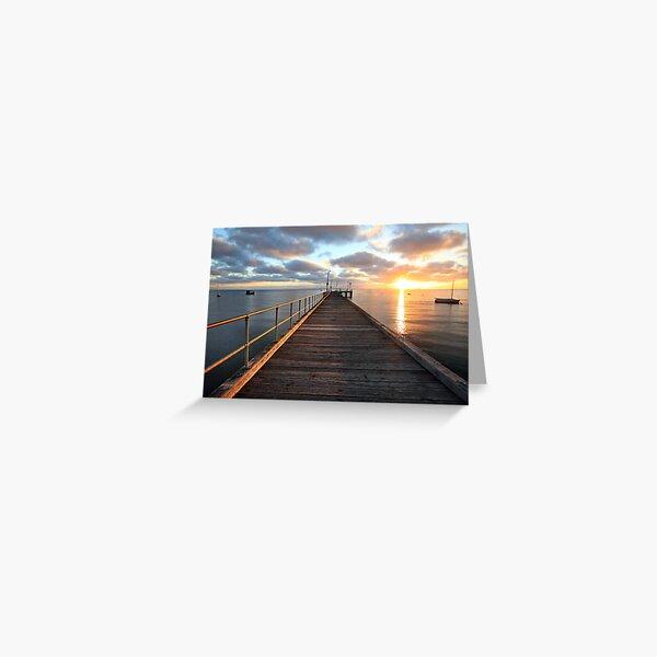 Morning Glory, Mornington Peninsula, Australia Greeting Card