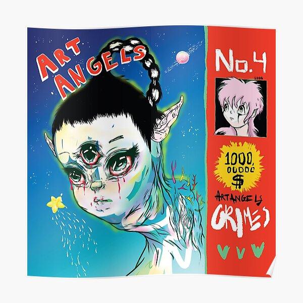 Grimes - Art Angels Poster