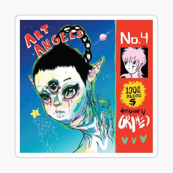 Grimes - Art Angels Sticker