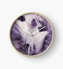 Feather Portrait Clock