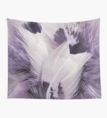 Feather Portrait Wall Tapestry
