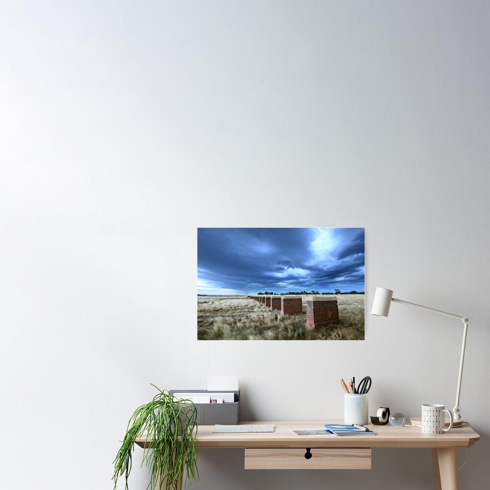 Storm Bridge, Castlemaine, Australia Poster