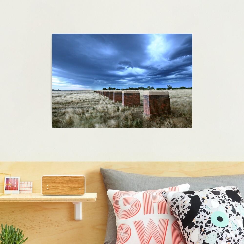 Storm Bridge, Castlemaine, Australia Photographic Print