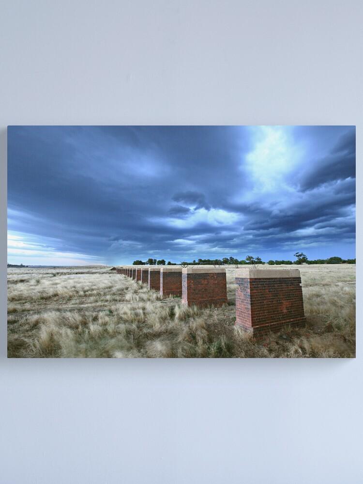 Alternate view of Storm Bridge, Castlemaine, Australia Canvas Print