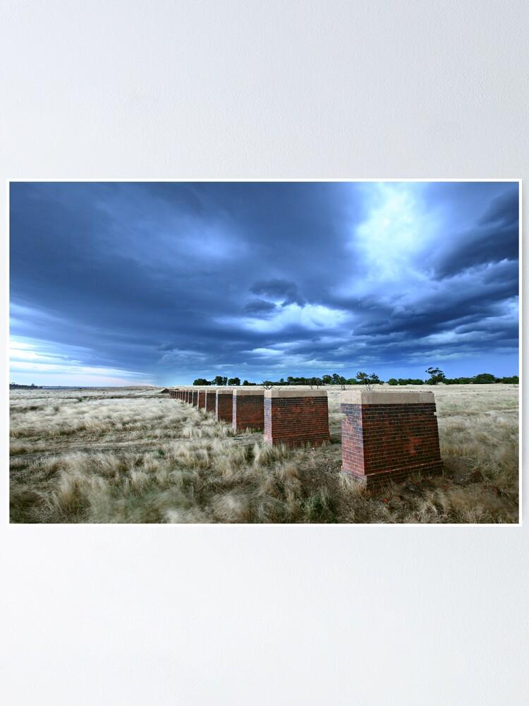 Alternate view of Storm Bridge, Castlemaine, Australia Poster