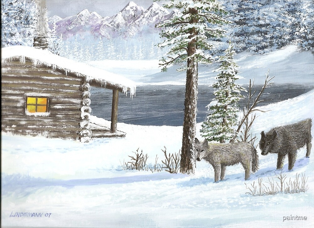 Wolf visitors by paintme