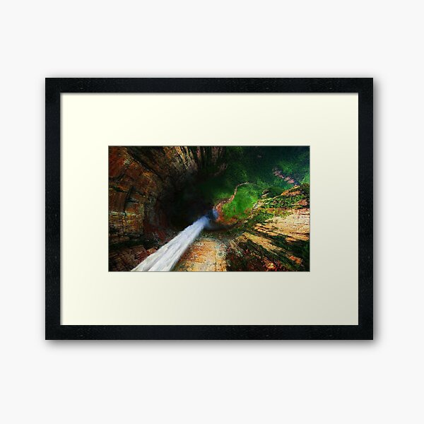 Angel Falls Venezuela Framed Art Print