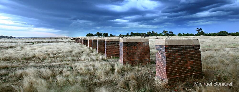 Storm Bridge, Castlemaine, Australia by Michael Boniwell