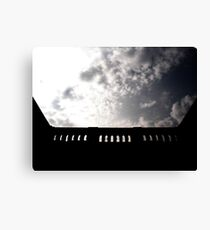 the sky up high Canvas Print