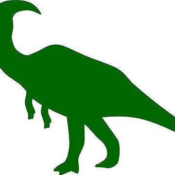 Parasaurolophus Dinosaur by sweetsixty