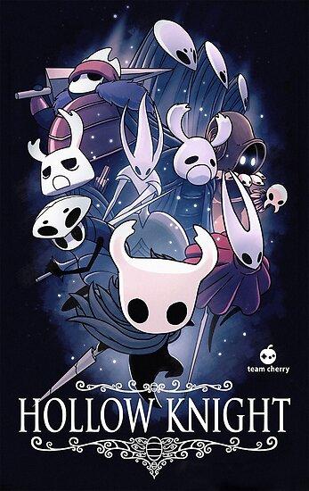 Hollow Knight-Deckblatt von FrostyMcNugs