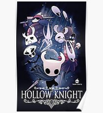 Hollow Knight-Deckblatt Poster