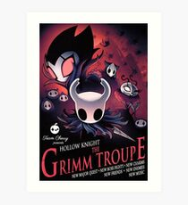 Hollow Knight Grimme Troupe Poster Art Print