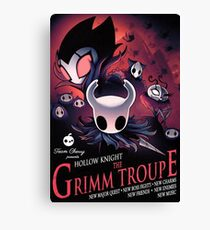 Hollow Knight Grimme Troupe Poster Canvas Print