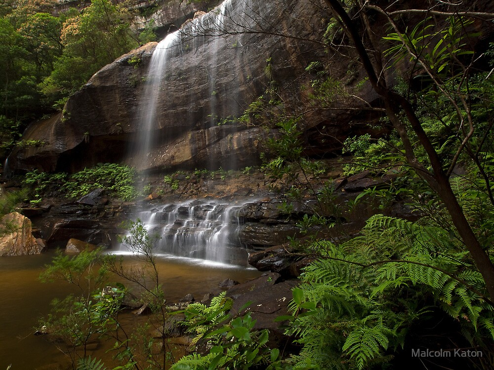 The Base - Wentworth Falls NSW by Malcolm Katon