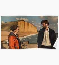 Miller & Hardy - BROADCHURCH Poster