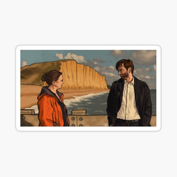 Miller & Hardy - BROADCHURCH Sticker