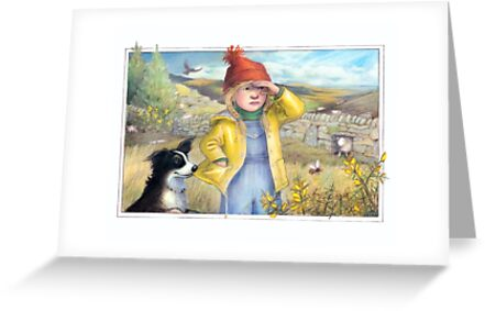 Little Bo Peep - A welsh take on the children's rhyme by Petra Brown