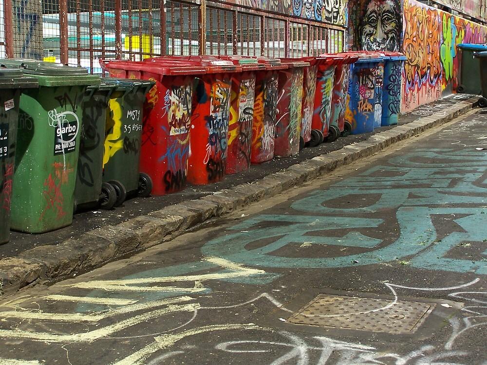 Garbage art. by karendawson