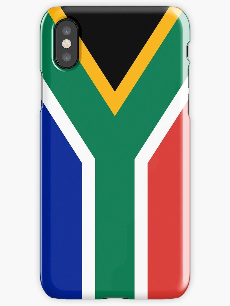 Smartphone Case - Flag of South Africa - Vertical by mpodger